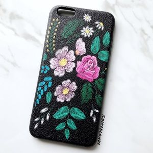NEW iPhone 6 Plus/6s Plus Rose Floral Soft Case